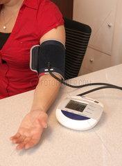 Blutdruckmessung in der Apotheke