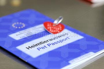 Heimtierausweis der Europaeischen Union