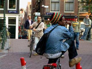 Niederlande. Amsterdam. Rastafa