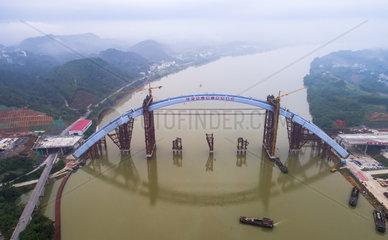 #CHINA-GUANGXI-GUANTANG BRIDGE-CONSTRUCTION (CN)