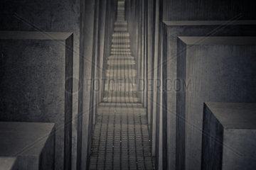 Holocaust-Mahnmal in Berlin  Deutschland