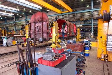 Ausbesserungswerk der DB Schenker Rail AG
