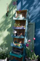 Self-made shelf