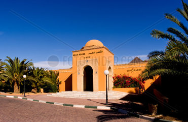 Luxury at Hotel Ksar Rouge in Tozeur Tunisia Africa exterior