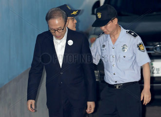 SOUTH KOREA-SEOUL-FORMER PRESIDENT-LEE MYUNG BAK-FINAL COURT HEARING