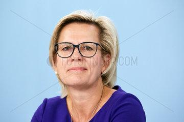 Berlin  Deutschland - Barbara Klepsch  Staatsministerin fuer Soziales und Verbraucherschutz.
