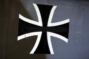 Beromuenster  Schweiz  Hoheitszeichen der Bundeswehr