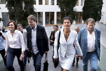 Aufstehen-Bewegung  Sahra Wagenknecht
