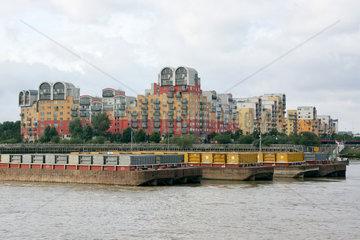London Wohnanlage an der Themse