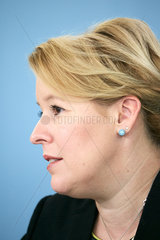 Berlin  Deutschland - Bundesfamilienministerin Dr. Franziska Giffey.
