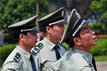 China: Blutspendeaktion in Nanjing fuer Erdbebenopfer