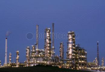 Deutschland  Sachsen-Anhalt: Leuna Chemiestandort  TOTAL Raffinerie Mitteldeutschland GmbH