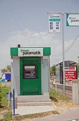 Geldautomat der Garanti Paramatik in der Tuerkei