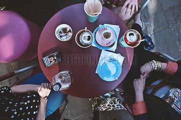 Kaffe Tisch