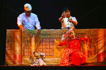 PUPPETRY is an ancient art which the MANDALAY MARIONETTES THEATER is keeping alive  MANDALAY  MYANMAR