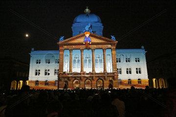 SWITZERLAND-BERN-LIGHT SHOW