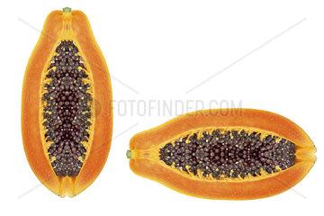 Food  Frucht  Fruechte  Lebensmittel  Vitamine  Papaya  Exotisch