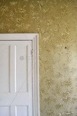 Goldene Tapete
