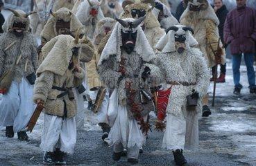 Karnevalsumzug in Ungarn