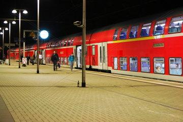 Regionalexpress RE 9 im Bf Aachen-Rothe Erde