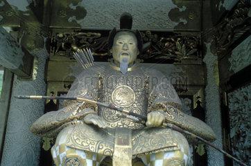 Skulptur einer Waechterfigur