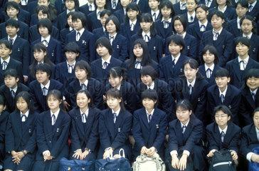 Gruppenfoto einer Schulklasse