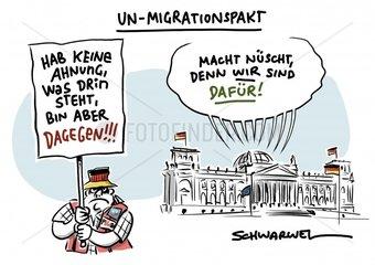 Bundestag bekennt sich zu Migrationspakt