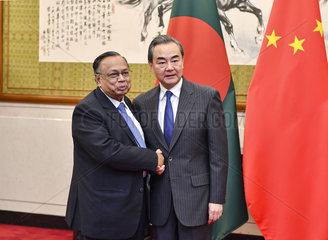 CHINA-BEIJING-BANGLADESH-FM-TALKS (CN)