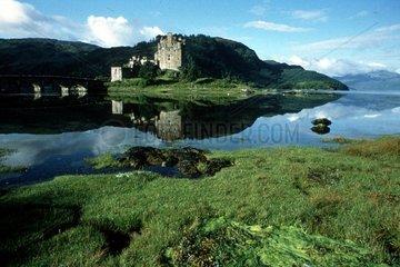 idyllisches schottisches Schloss
