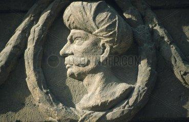 Tuerkenkopf-Relief in Budapest