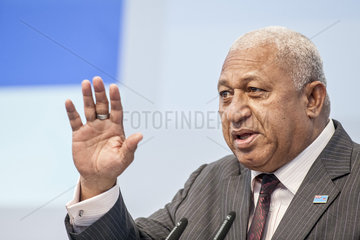 UN-Klimakonferenz Bonn 2017 - Frank Bainimarama