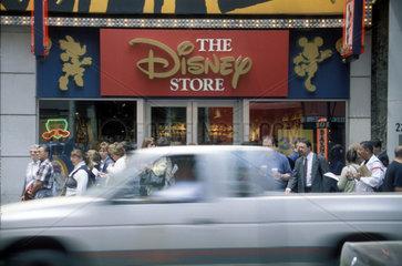 Disney Store an der 5th Avenue