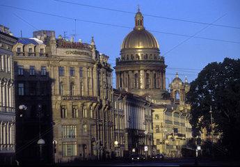 Prachtstrasse in Sankt Peterburg