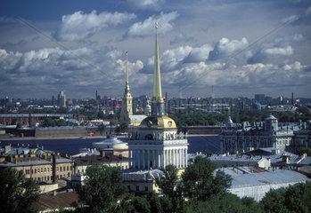 Blick auf Sankt Petersburg