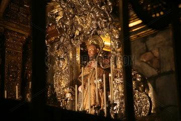 Kirche auf dem Jakobsweg - Camino de Santiago