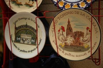 Souvenirverkauf am Jakobsweg - Camino de Santiago