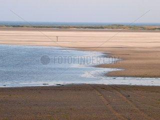 Ein Strand an der Nordsee