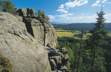 Polen - Schlesien: Heuscheuergebirge in den Sudeten
