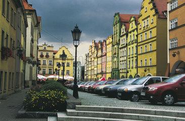 Polen - Schlesien: Altstadt von Hirschberg - Jelenia Góra