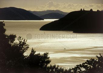 Neuseeland: See Marlborough Sounds