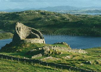 Schottland : Isle of Lewis  Broch Dun Carloway