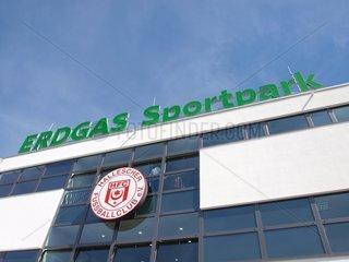 Erdgas Sportpark in Halle (Saale)