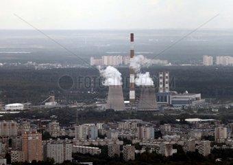 Heizkraftwerk bei Moskau