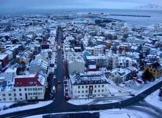 Reykjavik auf Island