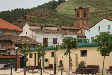 Ortschaft auf dem Jakobsweg - Camino de Santiago