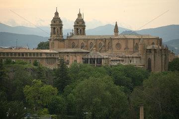 Kathedrale von Pamplona auf dem Jakobsweg - Camino de Santiago
