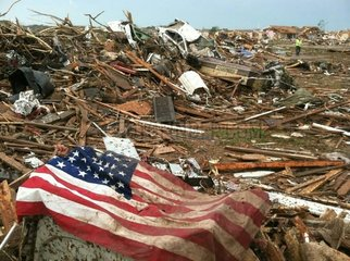 Situation nach dem Tornado in Oklahoma 2013