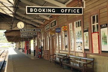 GB Kingswear - alter Bahnhof