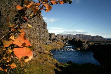 Landschaft auf Island