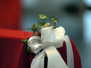 Schmuck bei einer Hochzeit